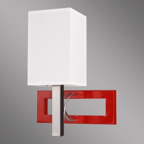 Kemar RF/K/1/R - Nástěnné svítidlo RIFFTA 1xE14/60W/230V