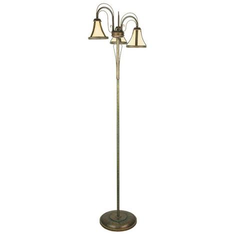 Kemar T/LS/3 - Stojací lampa TANAJA 3xE27/60W/230V zelená
