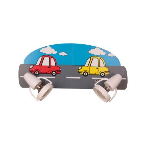 Klik 0116.02 - Nástěnné svítidlo CAR 2XE14/40W/230V