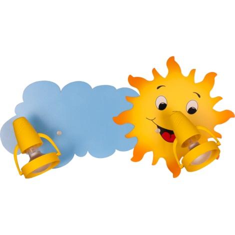 Klik 0118.02 - Stropní svítidlo SUN 2xE14/40W/230V