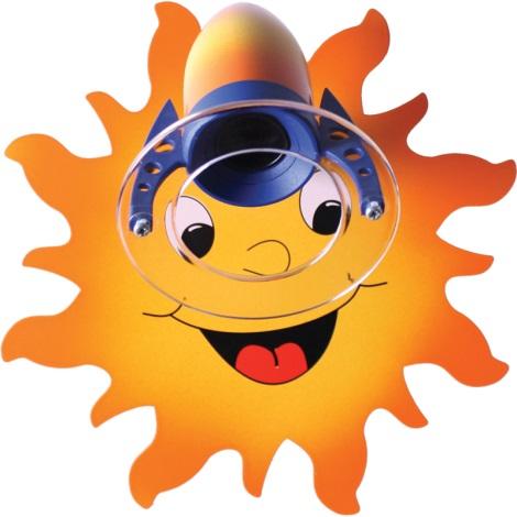 Klik 0119.01 - Nástěnné svítidlo SUN E14/40W/230V