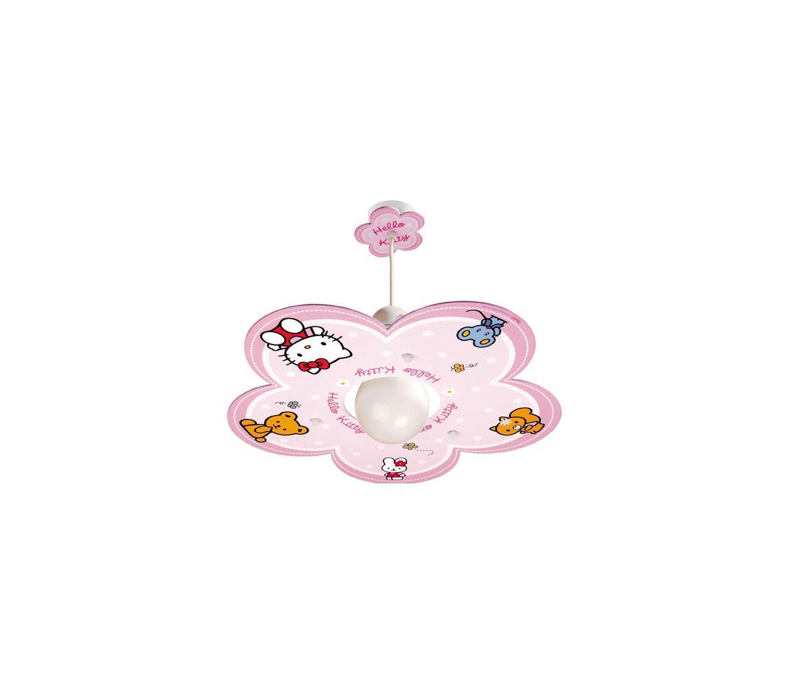 Klik Klik 10252 - Dětský lustr HELLO KITTY E27/60W/230V 28418
