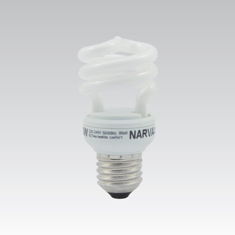 Kompaktní zářivka 1xE27/8W/230V NARVATRONIC NT Mini 840