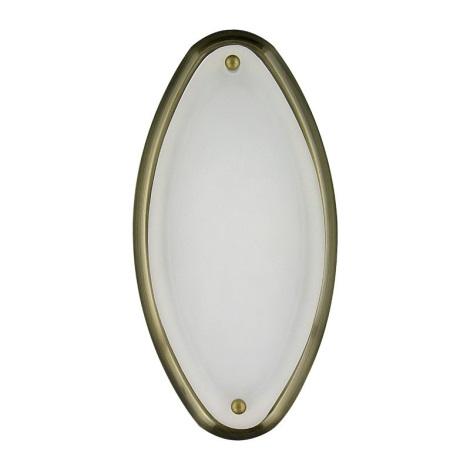 Koupelnové nástěnné stropní svítidlo NEPTUN 1xE14/40W/230V patina
