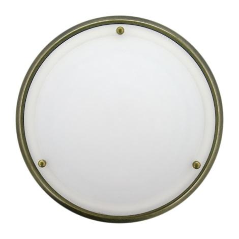 Koupelnové nástěnné stropní svítidlo NEPTUN 1xE27/60W/230V patina