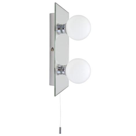Koupelnové nástěnné svítidlo GLOBE 2 2xG9/25W