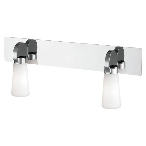 Koupelnové nástěnné svítidlo PEARL 2xG9/25W/230V IP44
