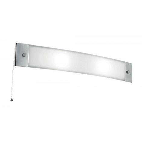 Koupelnové nástěnné svítidlo SHERPA 2xE14/40W/230V chrom