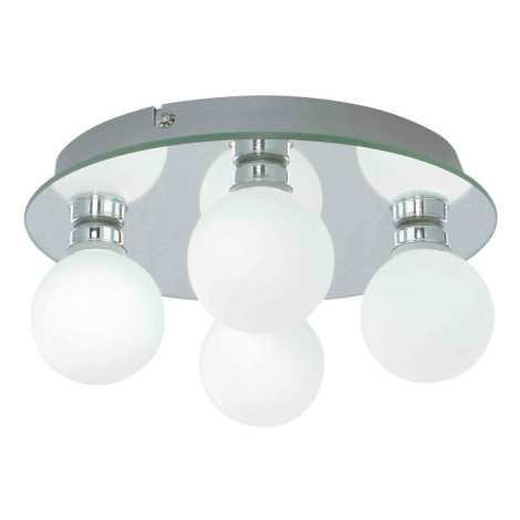 Koupelnové stropní svítidlo GLOBE 4 4xG9/25W IP44