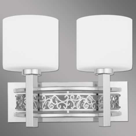 KR/K/2/B - Nástěnné svítidlo KORENTO 2xE14/60W/230V