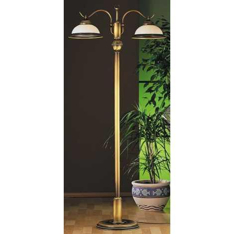 Lampa podlahová OPÁL OP2 2xE27/60W/230V