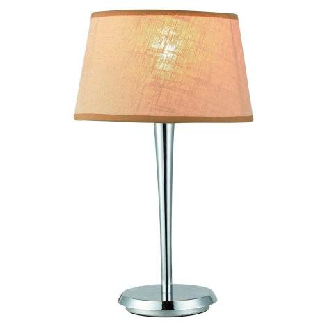 Lampa stolní COMBO béžová/chrom