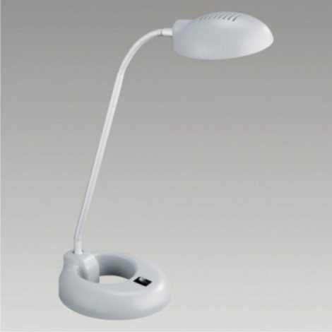 Lampa stolní PEDRO 1xG9/40W šedá