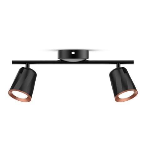 LED Bodové svítidlo 2xLED/6W/230V