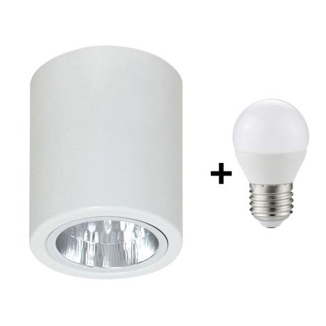 LED Bodové svítidlo DOWNLIGHT ROUND 1xE27/6W/230V 112x90 mm