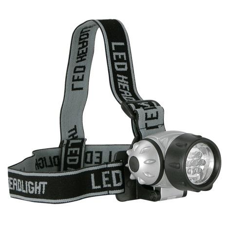 LED čelovka 7xLED/3xAAA