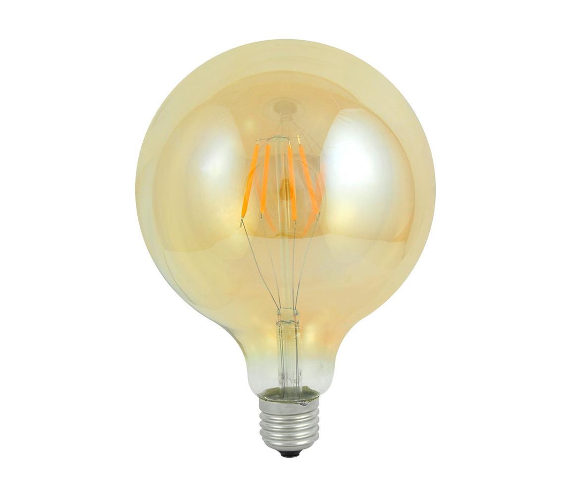 Polux LED Dekorační žárovka E27/4W/230V 125x180mm 2200K