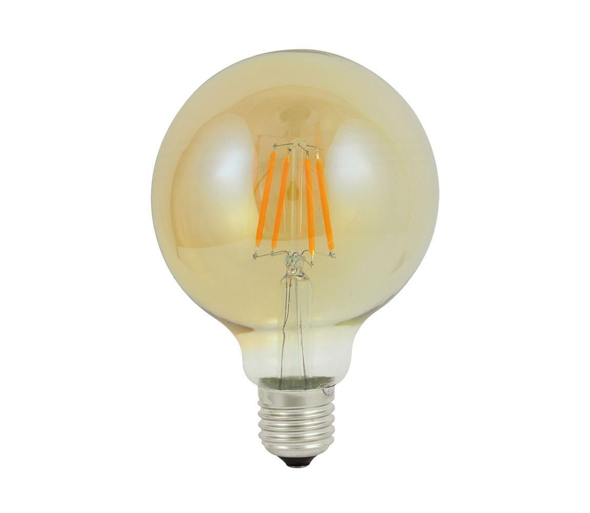 Polux LED Dekorační žárovka E27/4W/230V 95x135mm 2200K