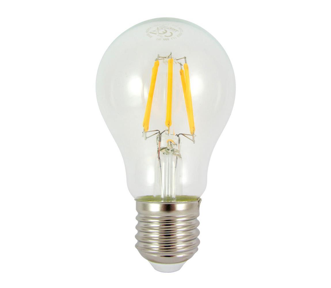 Baterie centrum LED Dekorační žárovka FILAMENT E27/9W/230V 2700K