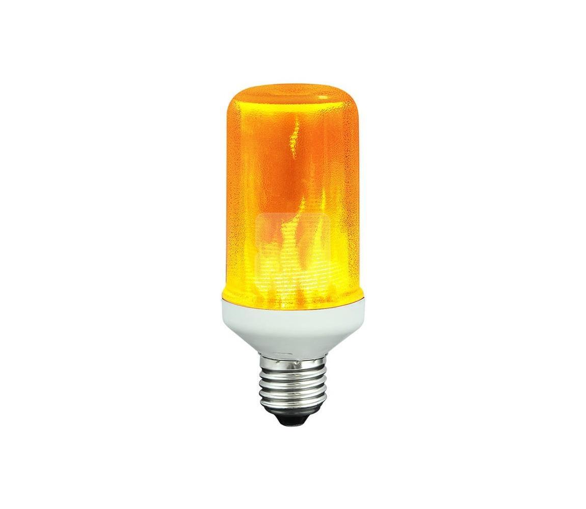 Polux LED Dekorační žárovka FLAME T60 E27/3W/230V