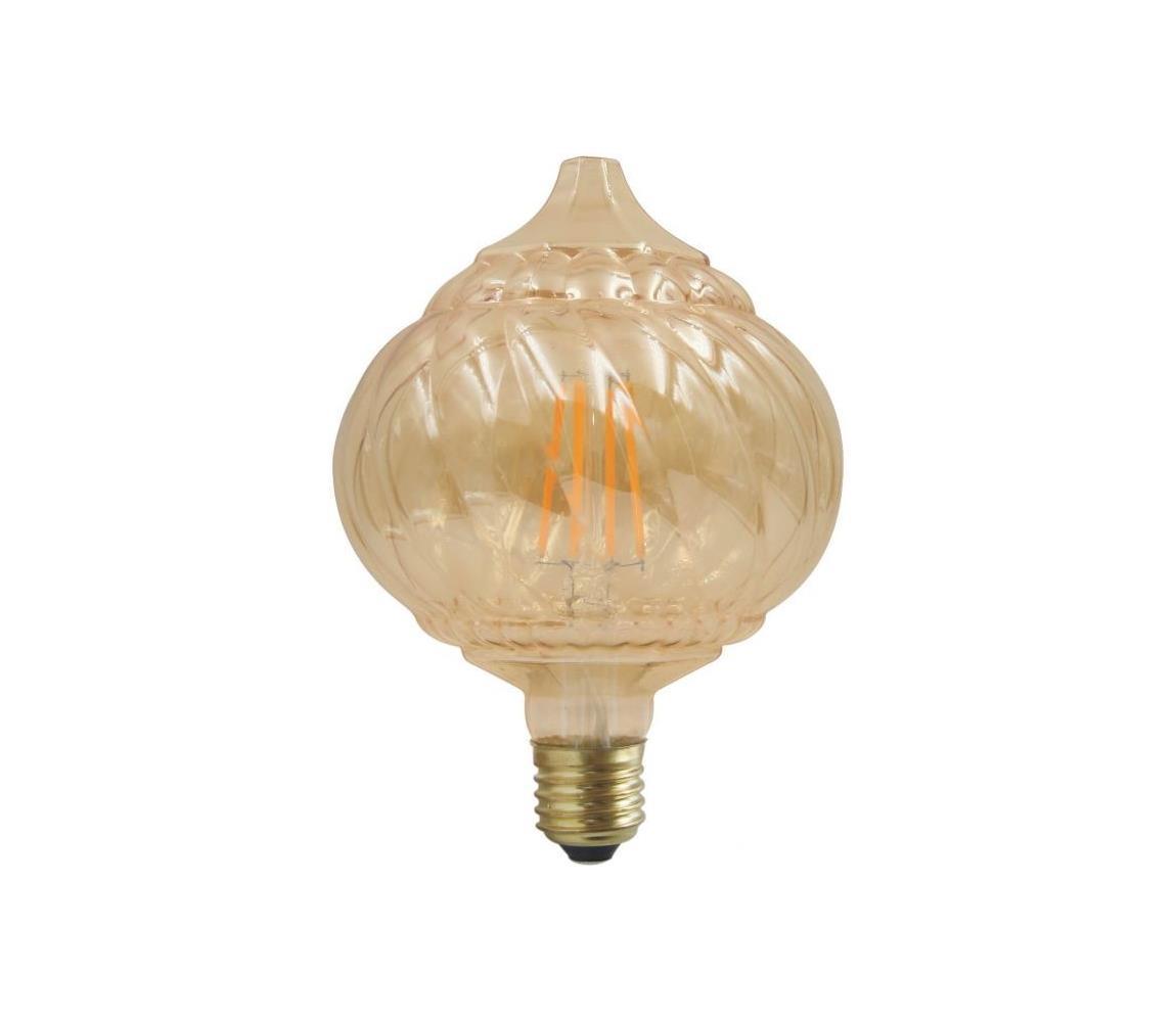 Polux LED Dekorační žárovka VINTAGE E27/4W/230V 2700K