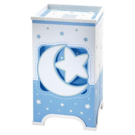LED Dětská stolní lampa BLUE MOON 1xE14/1W LED