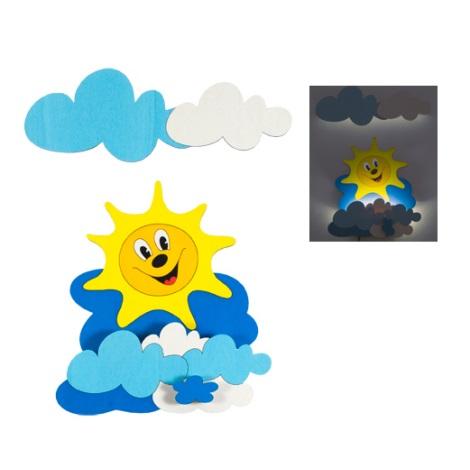 LED dětské svítidlo 1xLED/1W - Sluníčko