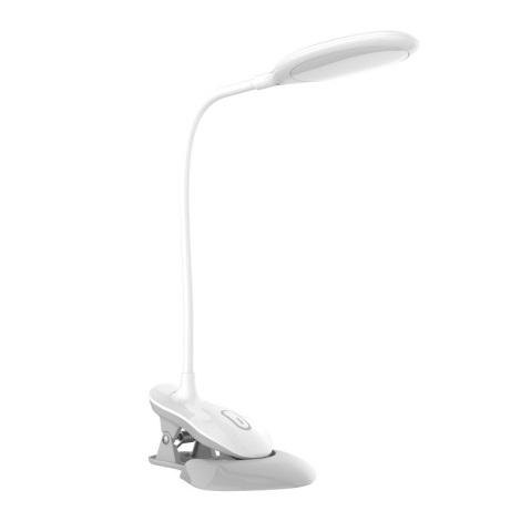 LED Dotyková stmívatelná stolní lampa s klipem LED/3W/230V