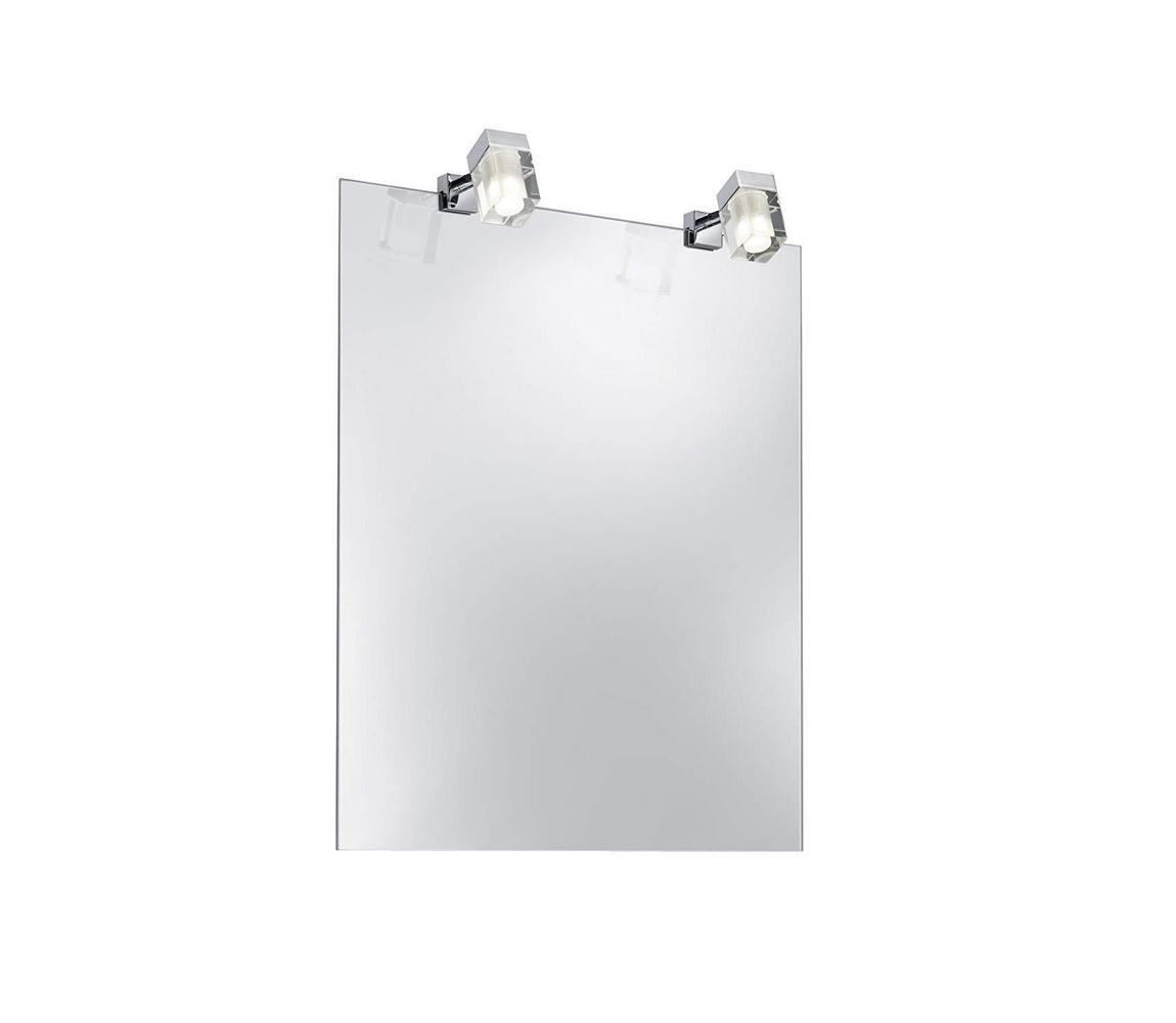 LED Koupelnové osvětlení zrcadla SQUARE SPIEGEL 2xLED/3,2W/230V IP44 P2494