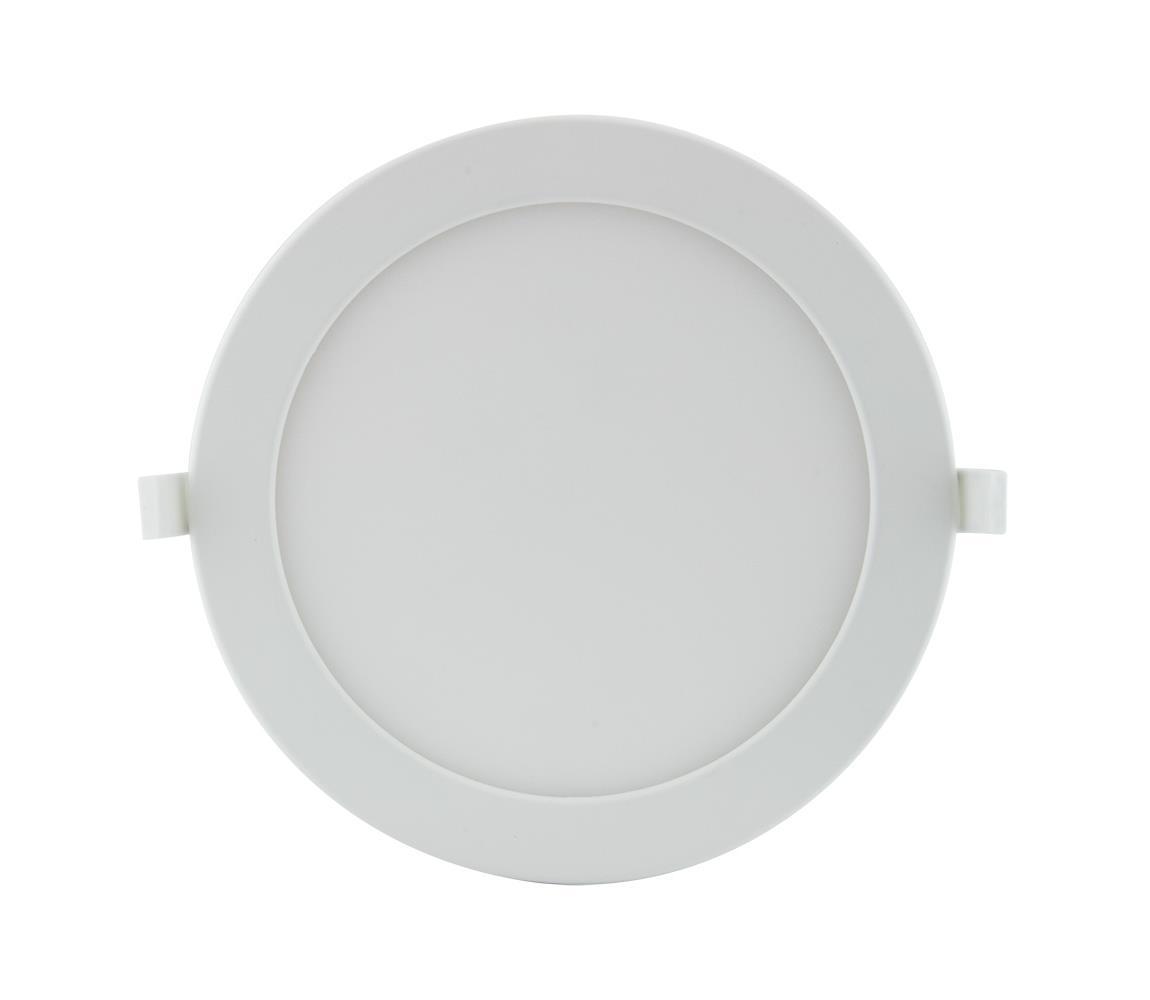 FK Technics LED Koupelnové podhledové svítidlo LED/18W/230V s přepínačem barevné teploty IP44 FK0154