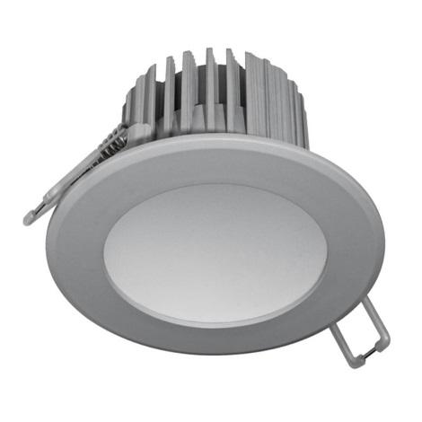 LED Koupelnové podhledové svítidlo LED/7W/230V 2800K šedá IP44
