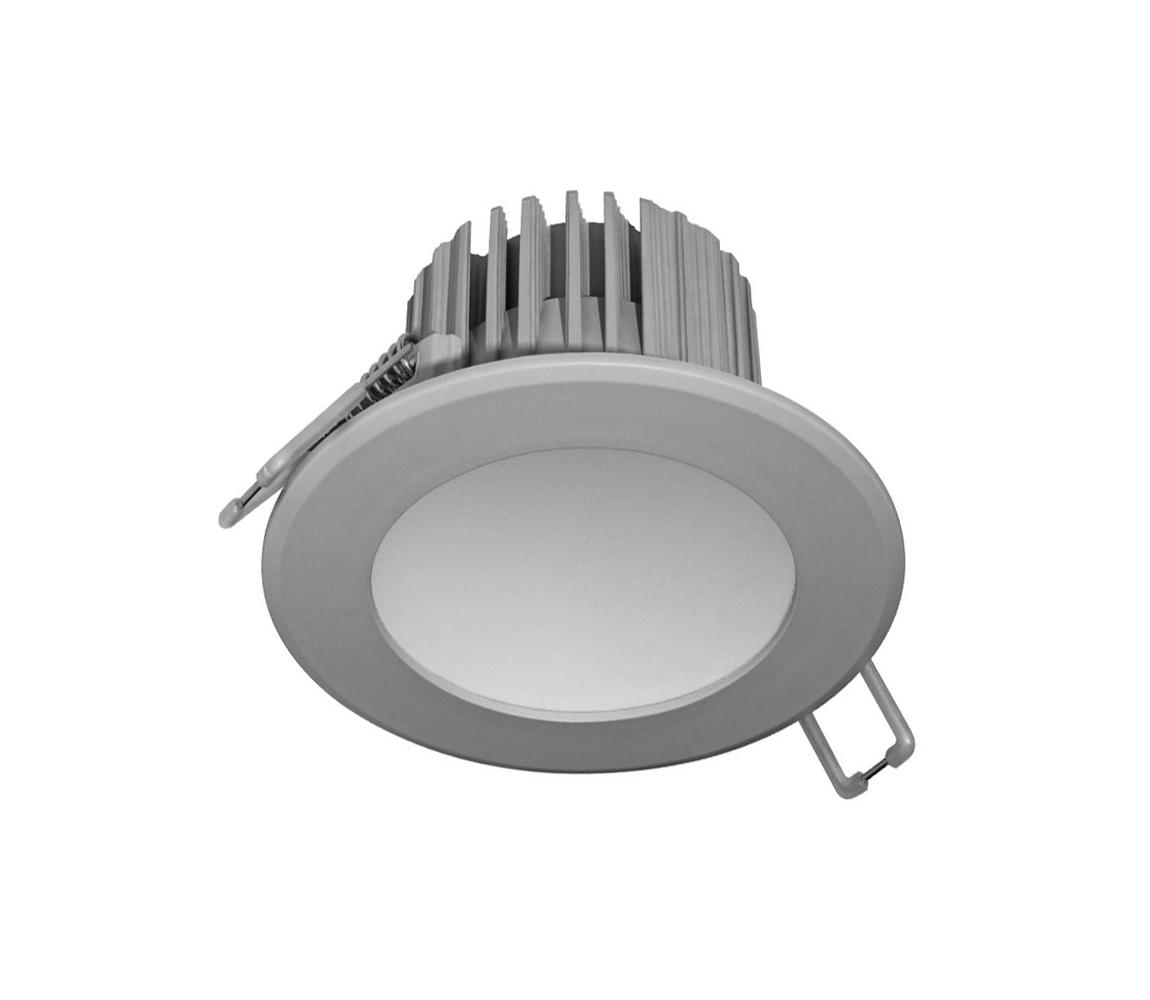 Nedes LED Koupelnové podhledové svítidlo LED/7W/230V 2800K šedá IP44 ND3140