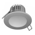 LED Koupelnové podhledové svítidlo LED/7W/230V 4000K šedá IP44