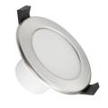 LED Koupelnové podhledové svítidlo LED/7W/230V 4000K stříbrná IP44