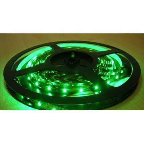 LED LQ Pásek 3528/12V 4,8W/m GREEN 5m