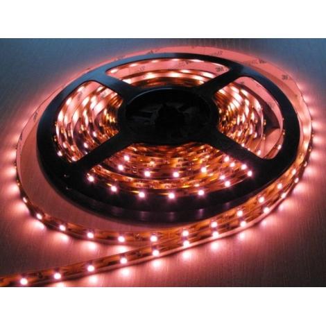 LED LQ Pásek 3528/12V 4,8W/m PINK 5m