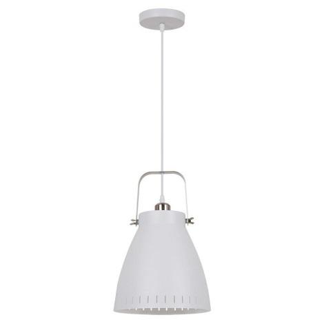 LED Lustr 1xE27/10W/230V bílá 26,5cm