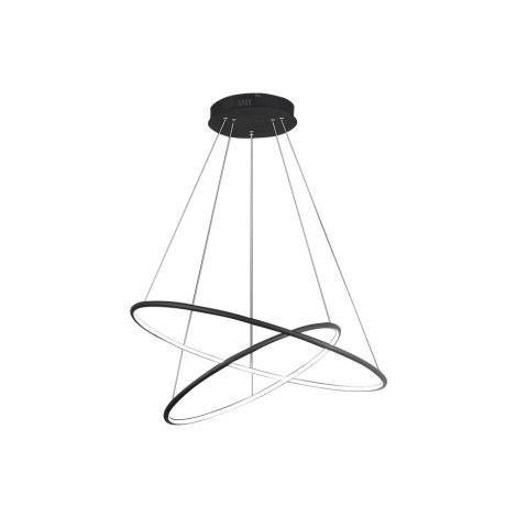 LED Lustr na lanku ORION 2xLED/53W/230V