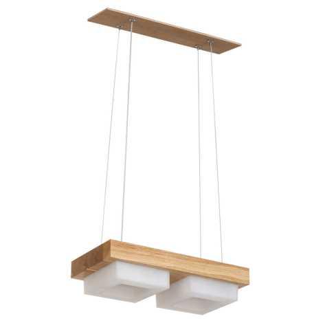 LED Lustr na lanku OSLO 2xLED/12W/230V