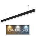 LED Lustr na lanku SAMSUNG CHIP LED/40W/230V 3000-6400K