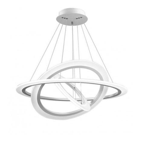 LED Lustr na lanku SATURN LED/109W/230V