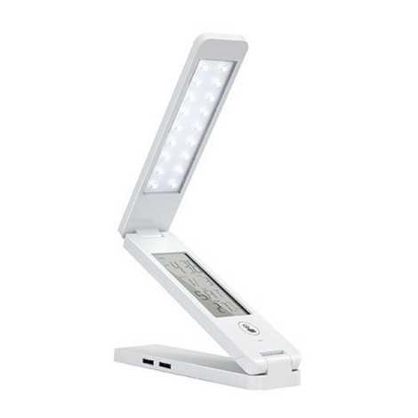 LED Multifunkční stolní lampa USB LED LED/1,5W/USB bílá