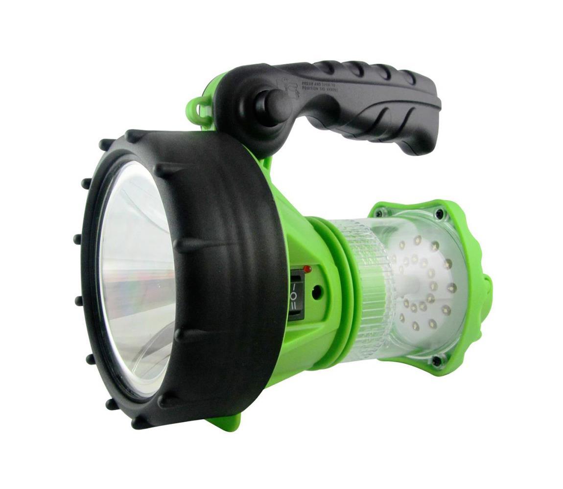 Baterie centrum LED Nabíjecí svítilna s lucernou LED/1W