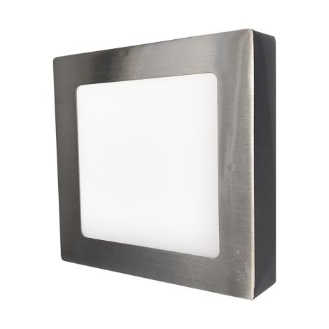 LED nástěnné svítidlo FENIX 90xLED/18W stříbrná/teplá bílá - GXDW038