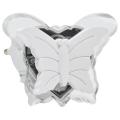 LED Noční světlo do zásuvky 0,4W/230V bílý motýl