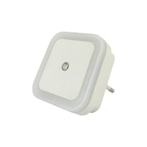 LED Noční světlo se senzorem LED/0,5W/230V bílá