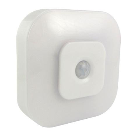 LED Noční světlo se senzorem LED/0,5W/3xAAA bílá