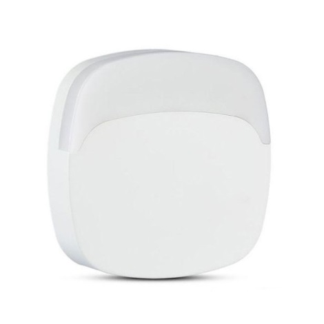 LED Noční světlo se senzorem SAMSUNG CHIP LED/0,5W/230V 65mm 3000K hranatý