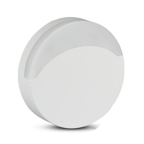 LED Noční světlo se senzorem SAMSUNG CHIP LED/0,5W/230V 65mm 3000K kulatý