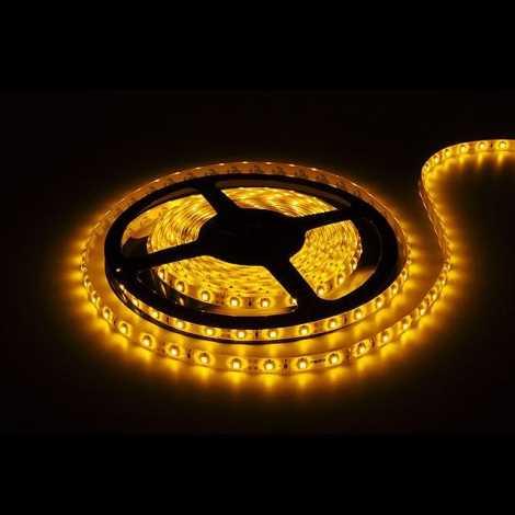 LED pásek 5m žlutá - GXLS005